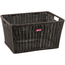 Unix Mattelo Panier fixe, finely woven black